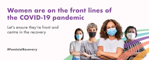 Women are on the front lines of the COVID-19 pandemic